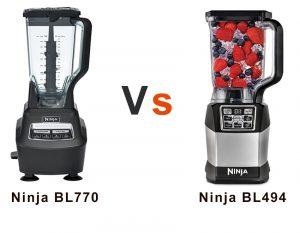 Ninja BL494 vs BL770