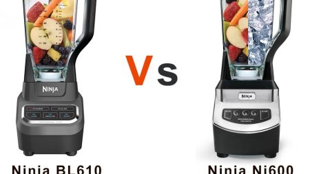 Ninja BL610 vs NJ600