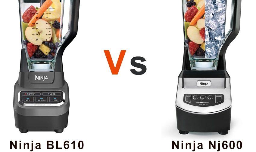 Ninja BL610 vs NJ600