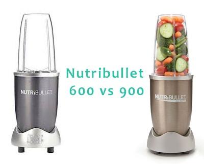Nutribullet 600 vs 900