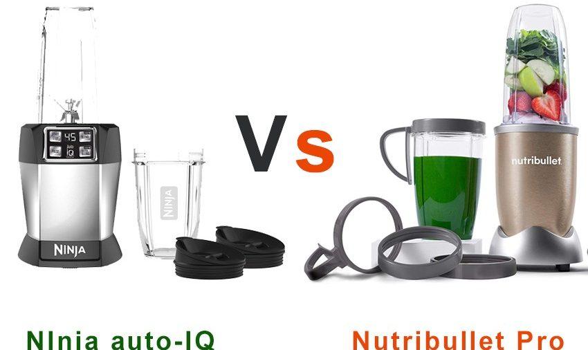 Nutribullet Pro vs Nutri Ninja Auto-IQ