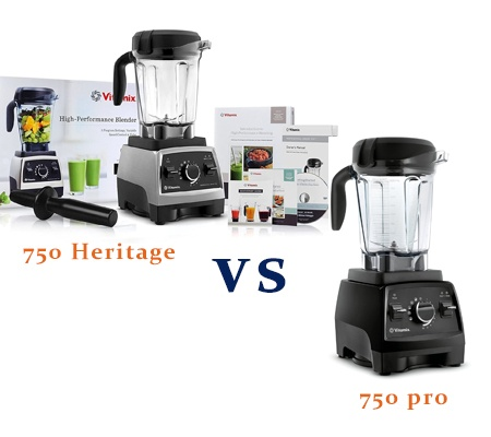 Vitamix 750 Heritage vs 750 Pro