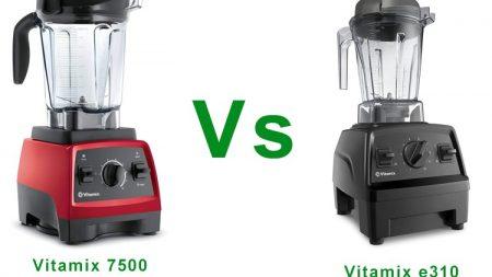 Vitamix e310 vs 7500
