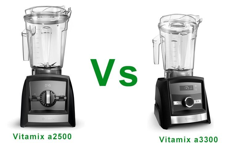 Vitamix a2500 vs a3300