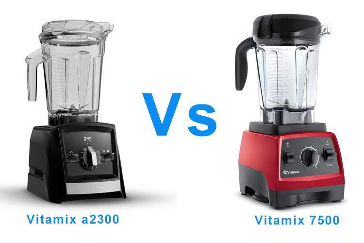 Vitamix a2300 vs 7500
