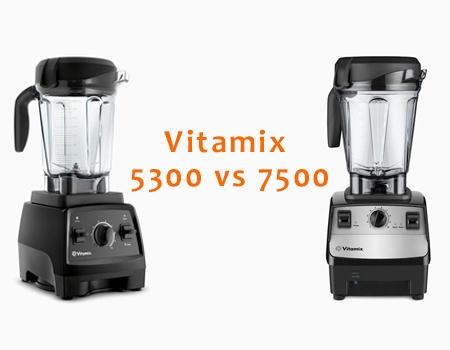 Vitamix 7500 vs 5300