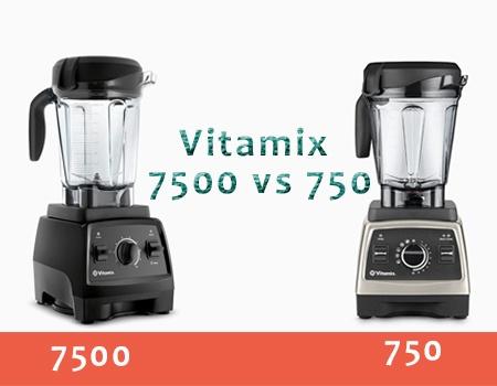 Vitamix 750 vs 7500
