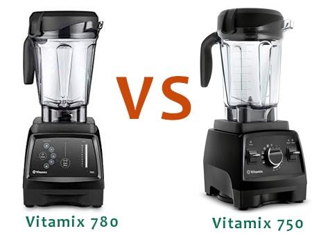 Vitamix 780 vs 750